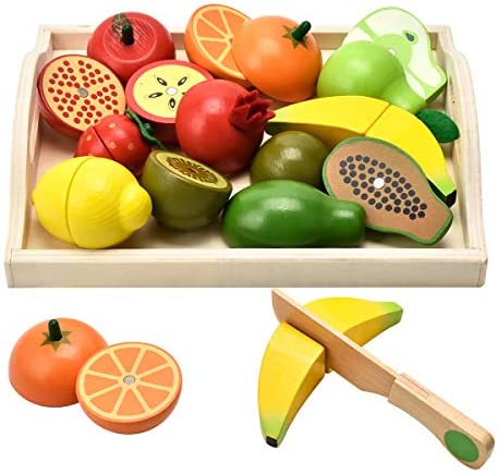 CARLORBO Wooden Toys Year Kids Play Kitchen product image