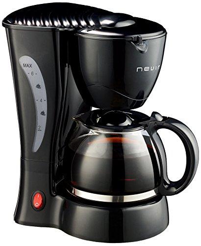 Nevir NVR-1125 CM Cafetera Goteo Nvr-1125Cm Negra,550W.6 Tazas ...