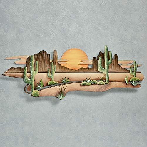 Copper Art Inc. Desert Serenity Wall Sculpture Multi Earth