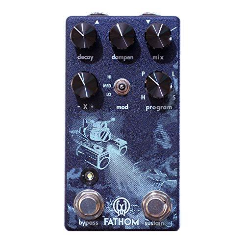 Walrus Audio Fathom Multi-Function Reverb, Limited Edition Purple (Gear Hero Exclusive)