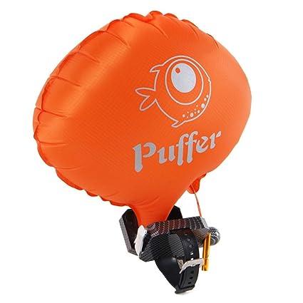 Portátil flotador pulsera agua flotabilidad ayuda pulsera anti-ahogamiento inflable gasbag natación dispositivo de seguridad