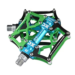 RockBros Bike Bicycle Pedals 9/16 MTB BMX DH Platform Pedals Cycling Pedals