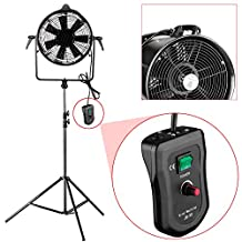 Neewer® Professional 300W Metal Adjustable Fan Wind Machine with Honeycomb and U-shaped Frame for Studio Photography Shooting (JB-30H)