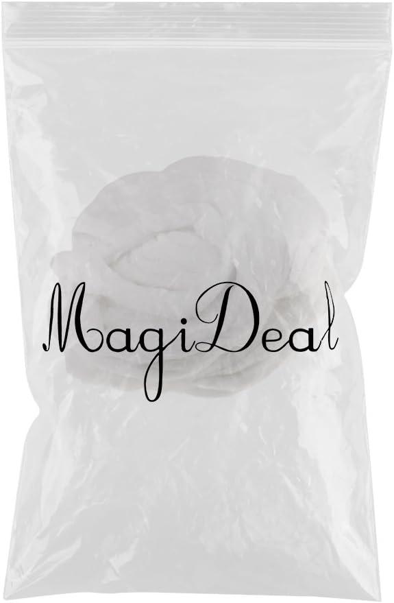 MagiDeal Bobine de Coton Pure Extra Absorbant pour Salon de Coiffure Perm Friser les Cheveux Nettoyage Facial Manucure P/édicure Outil de Nettoyage pour la Beaut/é