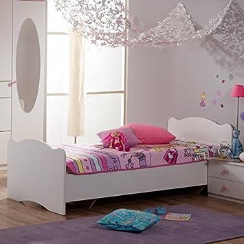 Jugendbett 90 200 Cm Weiss Made In Germany Madchen Jugendzimmer