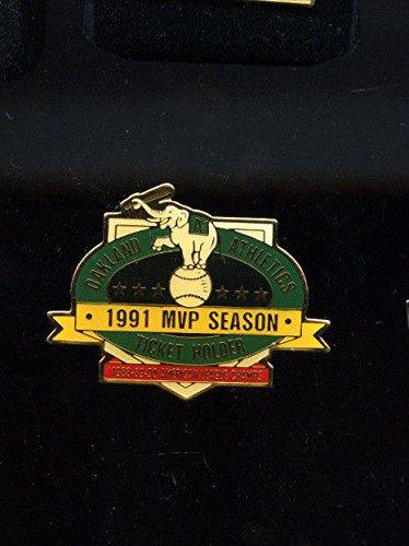 Oakland A's Athletics Pin 1991 MVP Season Ticket Holder