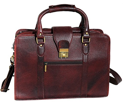 ZipperNext Genuine Leather Laptop Bag fo - Maroon Leather Grain Shopping Results