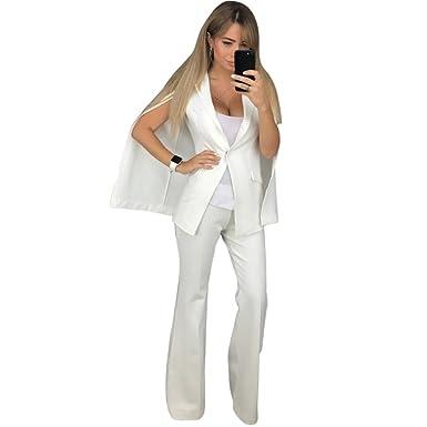 Femme Blazer Romacci Tailleur De Ensemble Veste Pantalon Cape Bureau 5z5qt