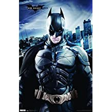 "Trends International Dark Knight Rises Crusader Wall Poster 22.375"" x 34"""