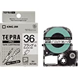 キングジム テープカートリッジ テプラPRO フラッグラベル SVF36K 白