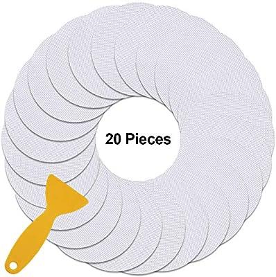 RSVAIMU - Pegatinas Adhesivas para mampara de Ducha (10,16 x 10,16 ...