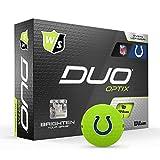Wilson Duo Soft NFL Golf Balls (1 Dozen)-Indianapolis,Green