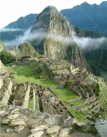 "Machu Picchu Peru historic photography poster 24x36/"""