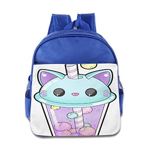 Drinking Cup Cat Style Book Bag Lovely Cartoon Animal Kid's School Daypack Outdoor Boy Kindergarten Backpacks 12