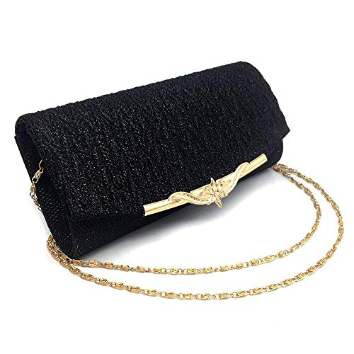 European Evening Glitter Chain American Shoulder Fashion Clutches and Handbag Bag Party Superw Bag Banquet Gray Bag Bag Women for Wedding FXAdqxFzw