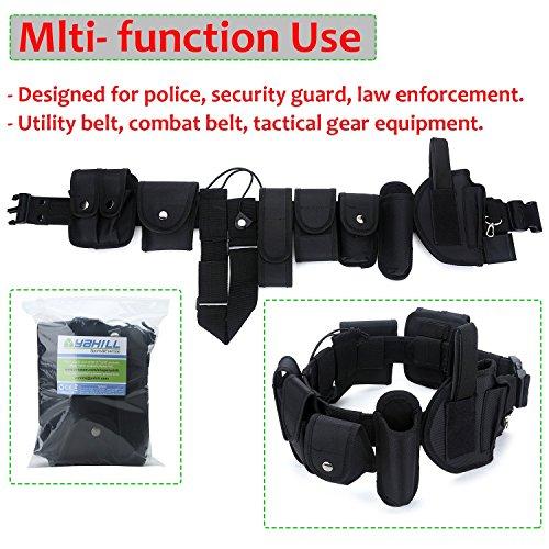 YAHILL® Ceinture Tactique Utilitaire, Équipement de Police de sécurité Application de Loi, Équipement Lourd d'officier… 2