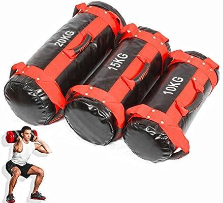 ed0dc15e55 Lions® 10kg 15kg 20kg Filled Weight Sand Power Bag Strength Training ...