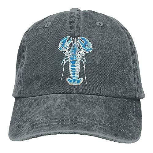 Ted GIen Men and Women Funky Lobster Vintage Jeans Baseball Cap G939