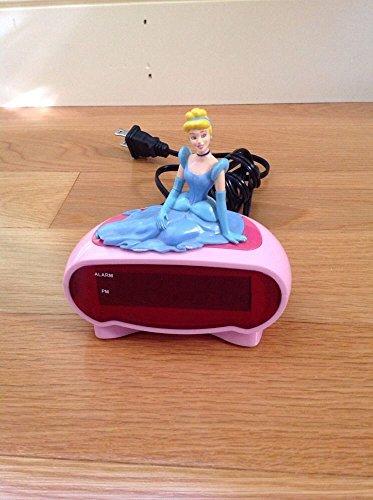 Cinderella Disney Pink Digital Alarm Clock