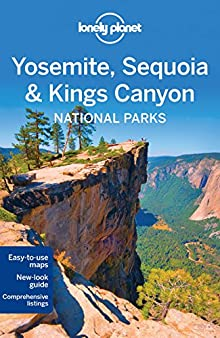 Book cover: Lonely Planet Yosemite, Sequoia & Kings Canyon National Parks