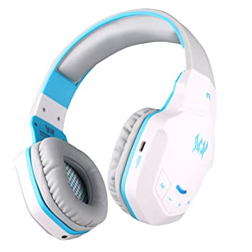 Gaming Headset Bluetooth Wireless PC Headphone Built-in Microphone with 50mm HIFI Audio Compatible with