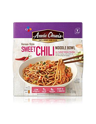 Peanut Sesame Noodle Bowl (Annie Chun's Noodle Bowl, Korean Sweet Chili, 7.9 Ounce)
