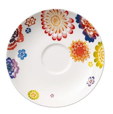Porcellana Bone China 15 cm Villeroy /& Boch Anmut Samarah Piattino Tazza Caffe