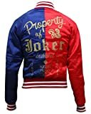 ABz Leathers Superhero Collection of Jackets/Coats/Vests-Available in Different Designs and Colors (XXL, Red-Harley-Quinn-Jacket-Satin)