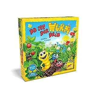 Zoch 601132100 Da ist der Wurm drin, Kinderspiel 2011, kinderleichtes und gewitztes Würfel-und Beobachtungsspiel, ab 4 Jahren 7