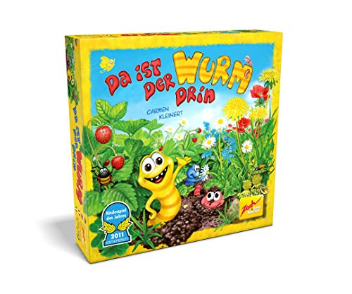 Zoch 601132100 Da ist der Wurm drin, Kinderspiel 2011, kinderleichtes und gewitztes Würfel-und Beobachtungsspiel, ab 4 Jahren 1