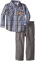 Peanut Buttons Baby Boys' Shirt and Pant Two-Piece Set