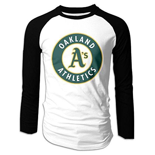 Price comparison product image PHOEB US Baseball Team Men's Long Sleeve Baseball Raglan Shirt XXL