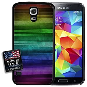 Grunge Rainbow Pride Galaxy S5 Hard Case