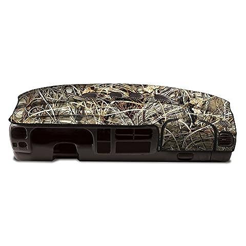 Coverking Custom Fit Dashboard Cover for Select Dodge RAM 2500/3500 Models - Velour (Max-4) (2002 Dodge Ram 2500 Dashboard)