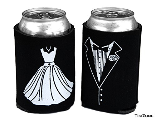 bride and groom can coolers - 7