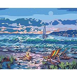 51ONaQsWA5L._SS300_ Beach Paintings & Coastal Paintings