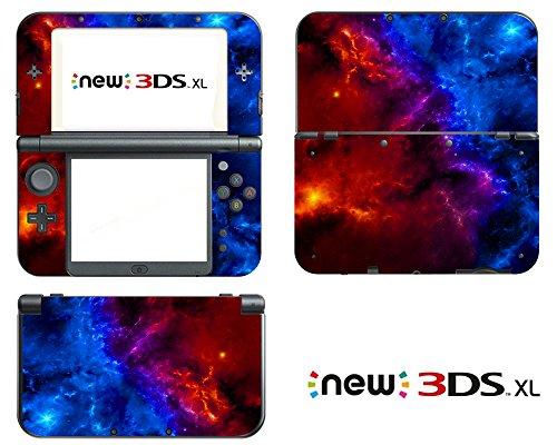 Vanknight Vinyl Decals Skin Sticker for the New Nintendo 3DS XL 2015 (Decal Nintendo 3ds Xl)
