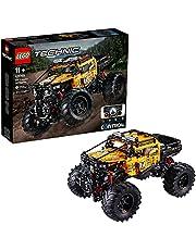 LEGO 42099 Technic Control+ 4x4 Allrad Xtreme-terreinwagen, app-gestuurd constructiespeelgoed met smarthub en interactieve motoren