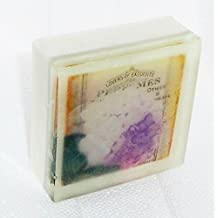 Hydrangea Postcard theme soap, Pretty as a picture soap