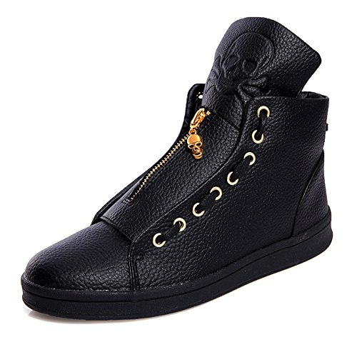 [YZHYXS Men's Oxfords Boots Winter Shoes Good Quality Leather High Top Zipper 926 (US Size6.5 =China Size 40,] (Mens Boots For Sale)