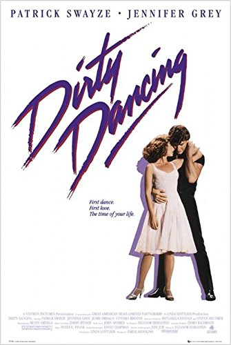 Dirty Dancing Movie Poster Jennifer Grey Patrick Swayze