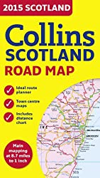 Collins Scotland Road Map 2015