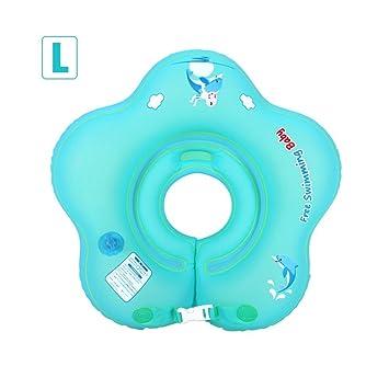 Biback Flotadores Collar para bebé Hinchable Anillo de Natación Flotador De Natación para Bebé para Niños de 0-18 Meses: Amazon.es: Juguetes y juegos