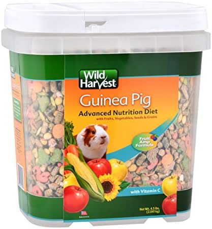 Wild Harvest Wh-83545 Wild Harvest Advanced Nutrition Diet For Guinea Pigs, 4.5-Pound