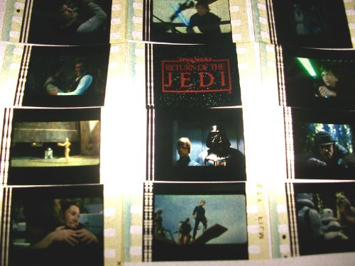 One Film Cell (STAR WARS Return of the Jedi master Lot of 100 35mm Film Cells collectible me...)