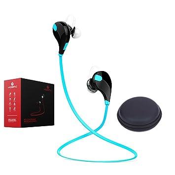 Auriculares inalámbricos, auriculares Bluetooth con micrófono con cancelación de ruido, estilo moderno para actividades