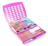 Beauty : BR Makeup Kit, Glamur Girl Kit, 48 Eyeshadow / 4 Blush / 6 Lip Gloss