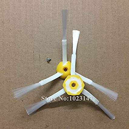 Home Appliance Parts 3-armed Side Brush Or Srew Kit For Irobot Roomba 500 600 700 Series 528 595 650 670 770 780 Robotic Vacuum Cleaner Parts Cleaning Appliance Parts