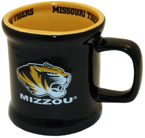 NCAA Missouri Tigers Ceramic Relief Logo Mug