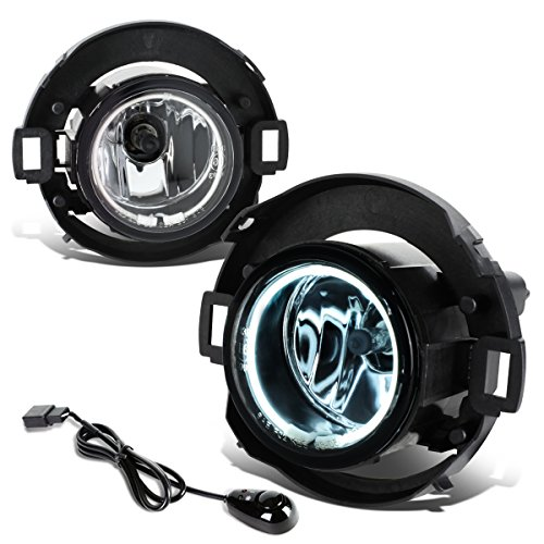 Nissan Frontier / Xterra Pair of Bumper Halo Ring Fog Lights